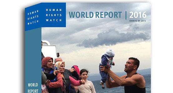 human rights watch jelentés 2016