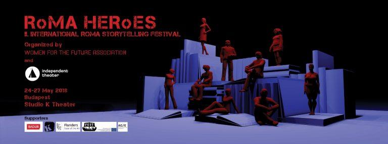 Roma Hősök – 2. Nemzetközi Roma Storytelling Fesztivál