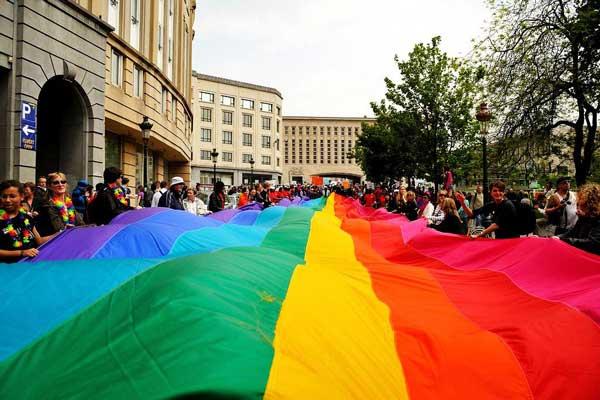 Melegfelvonulás Brüsszelben 2011. május 15-én ©www.flickr.com/esdanitof